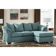 Living Room Ashley Furniture Sofa Beds Darcy Chaise In Sky Local