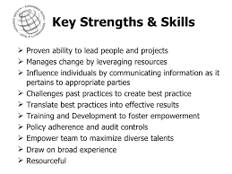 Resume Strengths Examples by 18 Resume For New Nurse Key Strengths For Nursing Resume