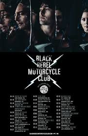 black rebel motorcycle club on tour soon