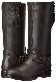 buy motorcycle waterproof boots amazon com bed stu women u0027s token motorcycle boot mid calf