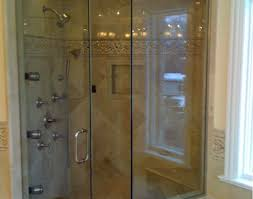 shower pleasant frameless glass shower door bottom seal modern