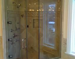 glass shower doors toronto shower pleasant frameless glass shower door bottom seal modern
