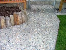 pebble tile natural stone tile the home depot pebble tiles natural pebble tile