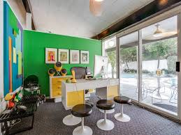 1950s Modern Home Design Peek Inside A Candy Colored Mid Century Modern Throwback