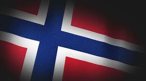Norweigan Flag 4k 3d Animation Of Norway Norwegian Flag Closeup Canvas Texture