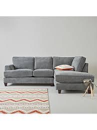 Corner Sofa Chaise Ideal Home Camden Right Hand Fabric Corner Chaise Sofa Chaise