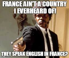 Jules Meme - jules didn t know that france speaks french imgflip