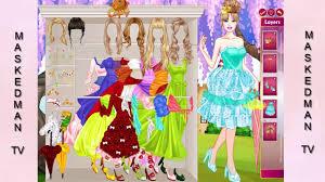 barbie princess dress up design games disney princess games