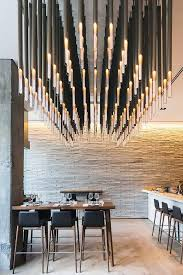 Interior Lighting Ideas Best 25 Restaurant Lighting Ideas On Pinterest Bar Lighting