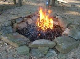 How To Make A Campfire In Your Backyard How To Build A Fieldstone Fire Pit Dengarden
