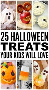 Halloween Treats And Snacks 25 Halloween Treats For Kids