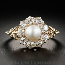 pearl and diamond engagement rings 18 insanely gorgeous pearl engagement rings