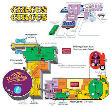 Las Vegas Hotel Strip Map by Circus Circus Casino Property Map U0026 Floor Plans Las Vegas
