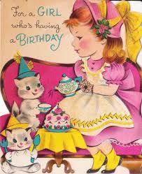 174 best vintage birthday images on pinterest vintage greeting
