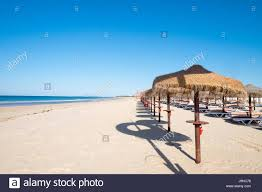 monte gordo beach monte gordo algarve portugal stock photo