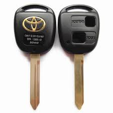 toyota car and remotes toyota remote key blank 2 button replacement key shell fob