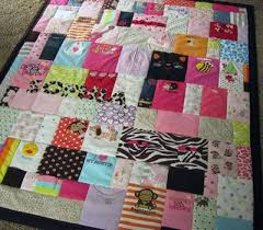 memory clothes memory quilt made out of baby clothes this idea but it