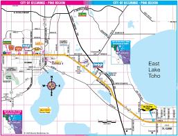 map of kissimmee orlando florida area maps