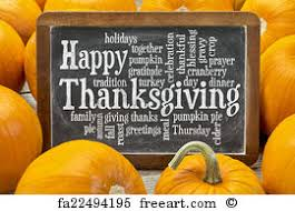 free print of thanksgiving celebration word cloud cloud of