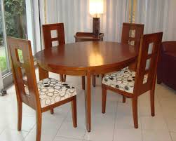 nza dining table with 4 chairs made of solid wood clickbd