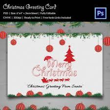 126 christmas greeting card templates u2013 free psd eps ai