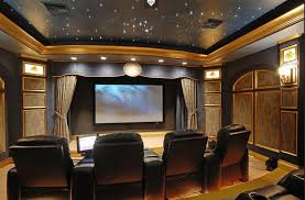 Home Theater Decor Ideas Home Design Ideas - Living room with home theater design