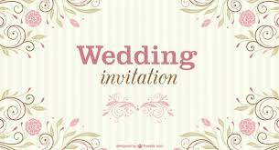 wedding backdrop vector free floral wedding invitation vector free
