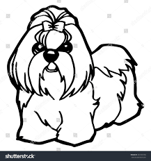 dog puppy coloring stock vector 333193178 shutterstock