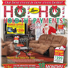 leon u0027s weekly flyer ho ho hold the payments event nov 27