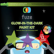 how to use black light paint glow kit with black light technology fuzeplay
