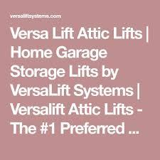 the 25 best attic lift ideas on pinterest garage hoist garage