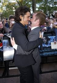 orlando bloom and billy boyd this wins the beautiful