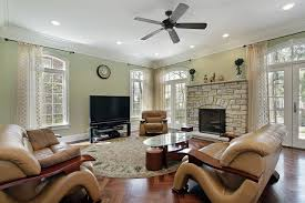 Living Room Design Brick Fireplace Rustic Great Room Ceiling Fans Best 2017 And For Living Images