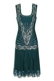 frock and frill zelda flapper dress emerald