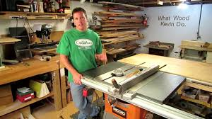 ridgid table saw r4513 parts ridgid r4512 tablesaw review home depot youtube