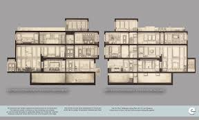 Hand Rendered Floor Plan North Philadelphia Townhome Emily Lambrow Archinect