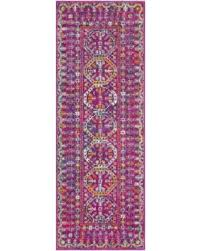 Pink Runner Rug Find The Best Deals On Bright Traditional Vintage Pink Runner Rug