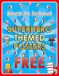 themed posters from spain back to school themed