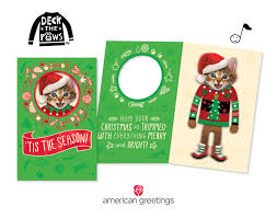 news american greetings make christmas extra fun with new deck