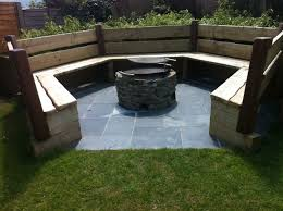 Firepit Area Pit Seating Area Design And Ideas