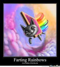 Unicorn Rainbow Meme - cat rainbow meme 100 images carl sagan flying on nyan cat best