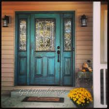 Painting Exterior Doors Ideas Captivating Front Door Brown House With Best 25 Colored Front