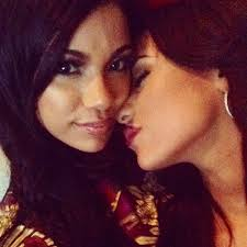 cyn santana hair erica mena cyn santana s 71 sexiest pda moments photos