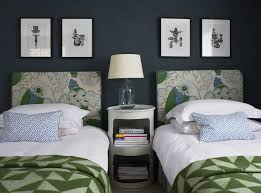 Ideas For Guest Bedrooms - guest bedroom home ideas twin headboards interior design
