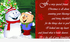 merry for friends quote with image