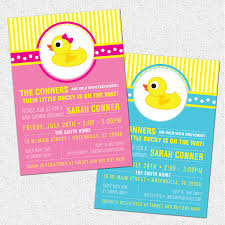 free downloads duck babysshower invitations for inspire yours