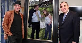 Alex Salmond Meme - alex salmond s new portrait at the national portrait gallery gets