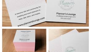 wedding planner business business cards stationery from moo