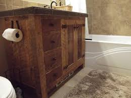 Barn Board Bathroom Vanity Creative Western Bathroom Vanities Design Barnwood Vanity 24inch