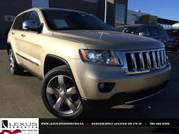 new lexus 2017 jeep pre owned white gold 2012 jeep grand cherokee 4wd overland review